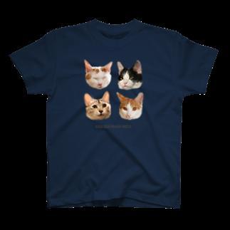 mofuwaのシラクジマグホタ T-shirts