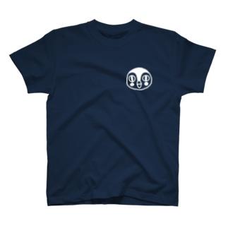 翼すずめ男の子ワンポイントT T-shirts