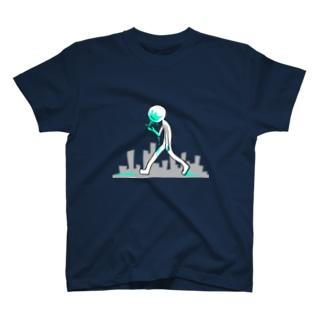 たのしいあるきかた T-shirts