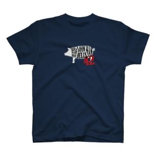 豚肉 T-shirts