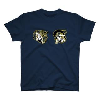 風神・雷神 T-shirts