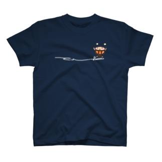ティンパニさんひかえめ白文字 T-shirts