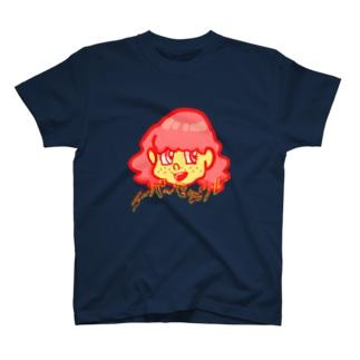 スーパーモデル☆メガネちゃん T-shirts