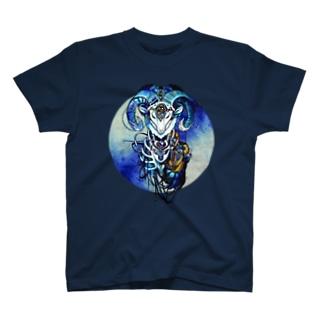 夢羊ver.2 泥中のレプリカ(カラー) T-shirts