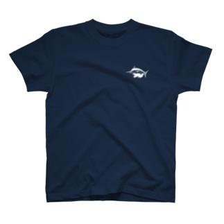 シンプルクロカジキ T-shirts