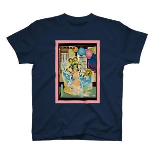 希臘原始的昼女神図 T-shirts