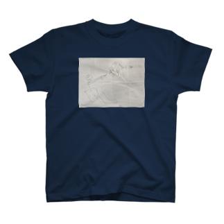 誰かが描いたクリーマン T-shirts