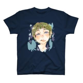 美味しそうなまぶたをみてる T-shirts