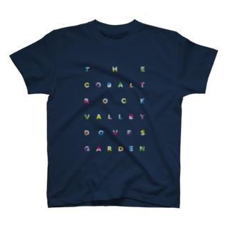 the cobalt color T-shirts