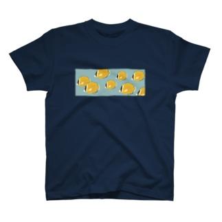 チョウチョウウオの水槽 T-shirts