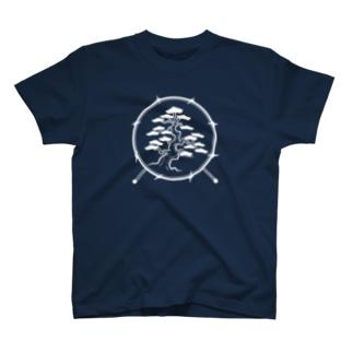 松ドラム(白マーク) T-shirts