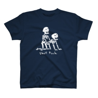 Skull Fuck(白) T-shirts