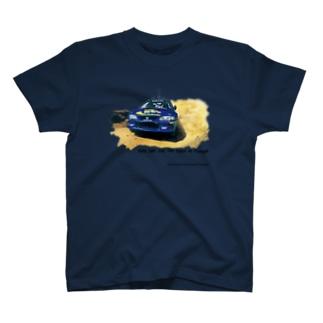1998年スバルインプレッサ555WRC  T-shirts