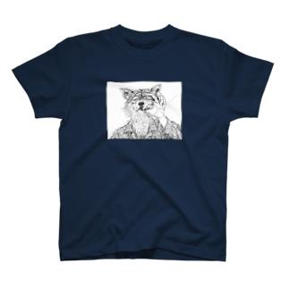 オオカミ兄貴 T-shirts