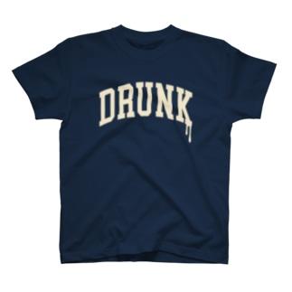 酔っ払いTシャツ T-shirts