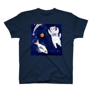 ニャンコスモ T-shirts