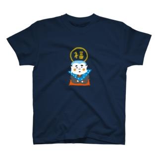 BONNOUM福助柄 T-shirts