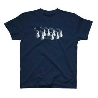 濃色向き遠吠えハスキーズ T-shirts