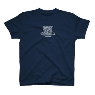 銭湯大好き「YUAGARI」Tシャツ T-shirts