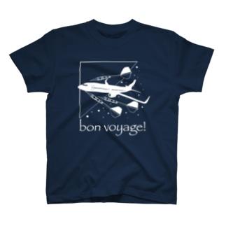 ボンボヤージュ! ダーツTシャツ T-shirts