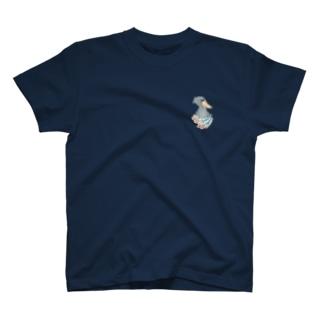 ハシビロを胸に T-shirts