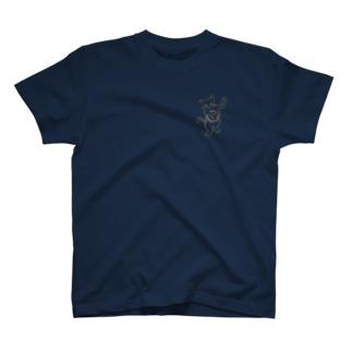 バンジョー弾く猫 1 T-shirts
