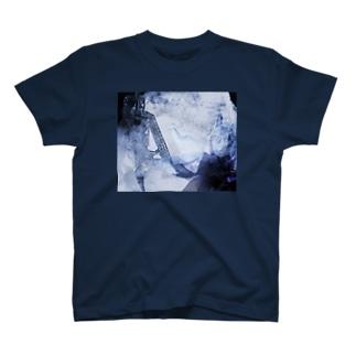 破壊と創造 烟る街 おもてロゴ無し T-shirts