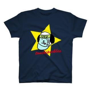 フェイスシールドウクちゃん T-shirts
