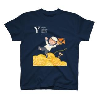 ヨットと毛糸 T-shirts