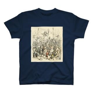 J・J・グランヴィル「もう一つの世界」 T-shirts