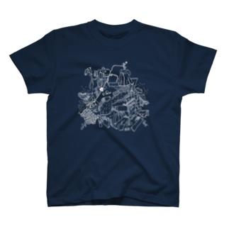 登ろう!(反転!) T-shirts