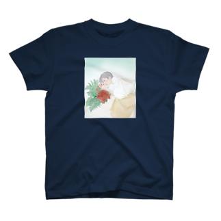 ダンサーシリーズ 1 「花の香り」 T-shirts