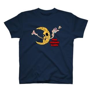 雲を生む月 T-shirts