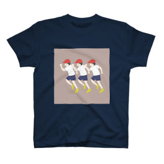 活気クラブの活気グラフィック「運動会」 T-shirts