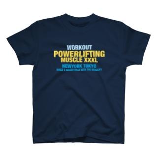 重量挙げ T-shirts