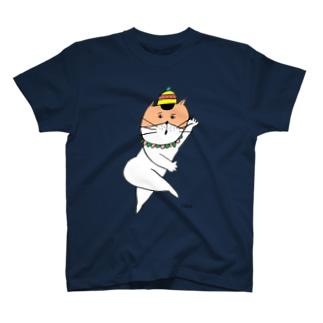 びっくりねこちゃん T-shirts