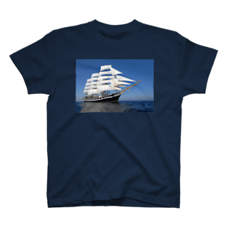 星野敬児(つぼぼ)の帆船のTシャツ T-shirts