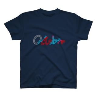 October(10月) T-shirts