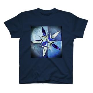 ブルースター(ダーク) T-shirts
