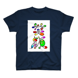 アート文字【笑顔】 T-shirts