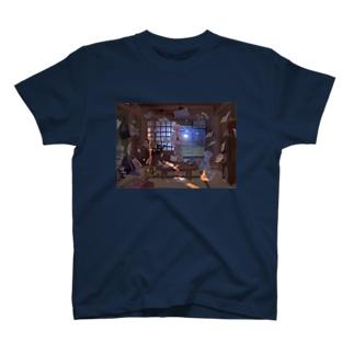台風の中心の彼女 T-shirts