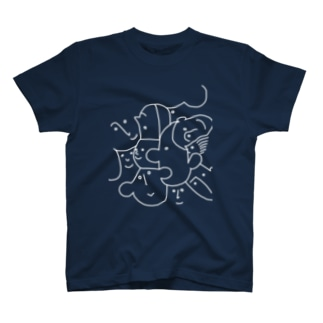 friends(white line) T-shirts