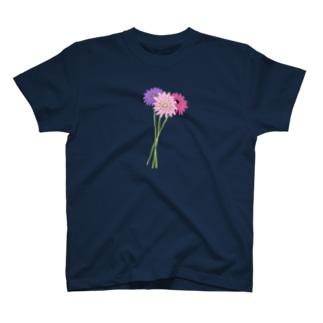 三色のガーベラ T-shirts