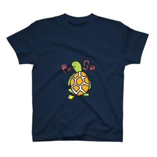 カメコのオナラTシャツ T-shirts