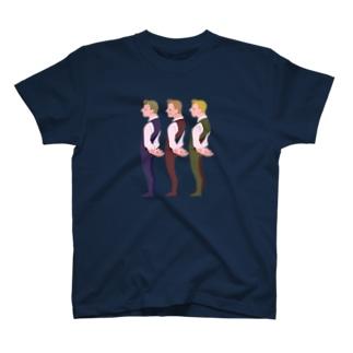 3人の男 T-Shirt