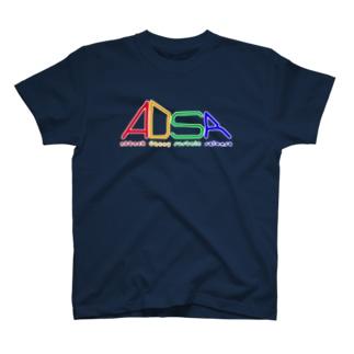 ADSR(白) T-shirts