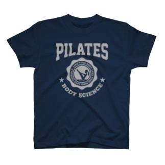 ピラティス PILATES A dark T-shirts