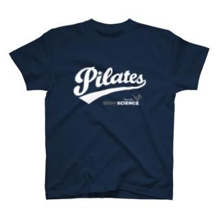 ピラティス PILATES B dark T-shirts