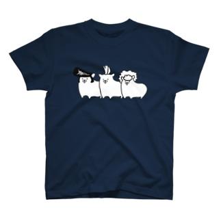 Piso Store on Suzuriのシンプルハムスター T-shirts