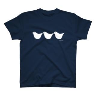 つながる文鳥さん T-shirts